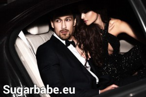Sugarbabe im Auto vom Sugardaddy