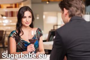 Sugarbabe und Sugardaddy beim Date